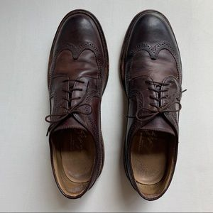 Frye // John A. Frye Leather Oxford Wingtip Shoe